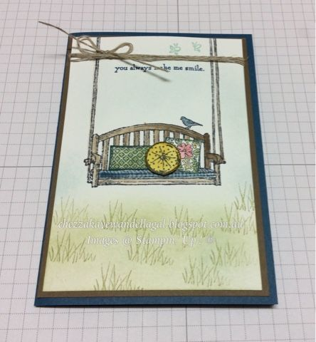 "Cheryl Algie ""Independent Stampin' Up! ® Demonstrator"" : Sitting Here"