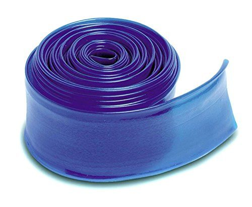 Felices Pascuas Collection Transparent Blue Swimming Pool Filter Backwash Hose - 100' x 1.5 inch
