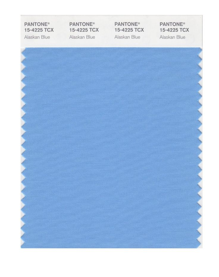PANTONE SMART 15-4225X Color Swatch Card, Alaskan Blue - House Paint -  Amazon