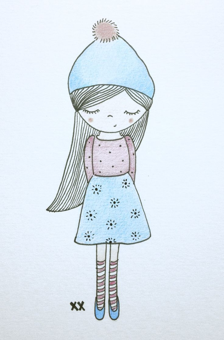 meisje illustratie | girl illustration