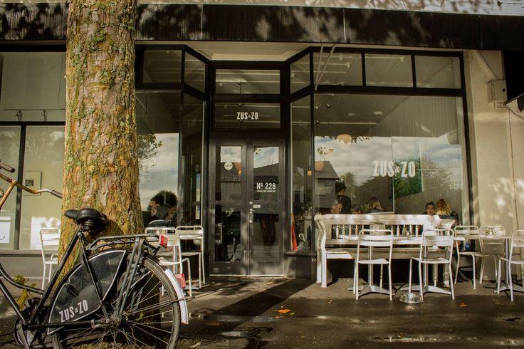 #ZusandZo Herne Bay's coffee aficionados. #kiwibusibusiness