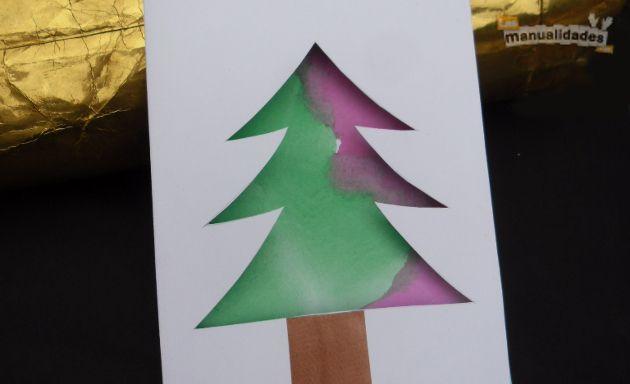 Tarjeta de navidad para hacer con ni os christmas time - Crear christmas de navidad ...