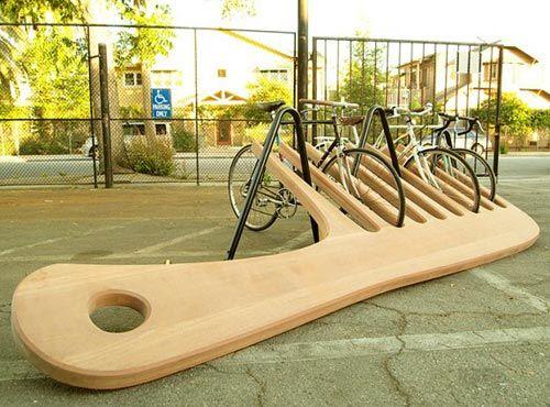cool bike stand