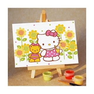 Melukis Sendiri Hello Kitty's Happiness - Melukis Sendiri