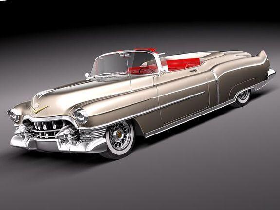 Cadillac Eldorado Deville Convertible 1953 www.pinterest.com/shorrobi/classic-auto-trader/