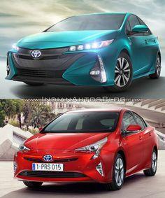 #Toyota Prius Prime Vs. 2016 Toyota Prius - Comparo