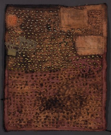 Dorothy Caldwell is an American artist whose textile work refers to landscape