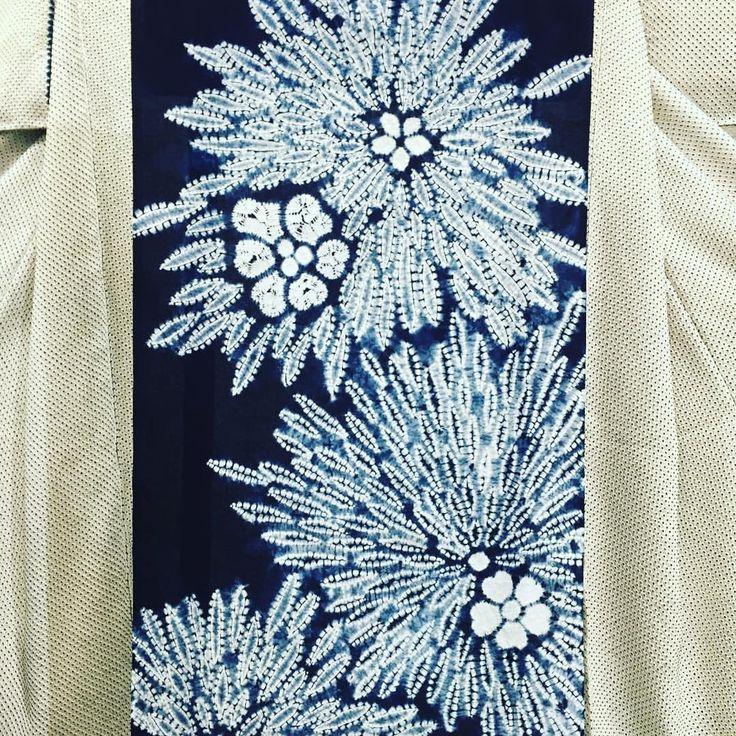 Gorgeous shibori!   Koubou Ainoyakata