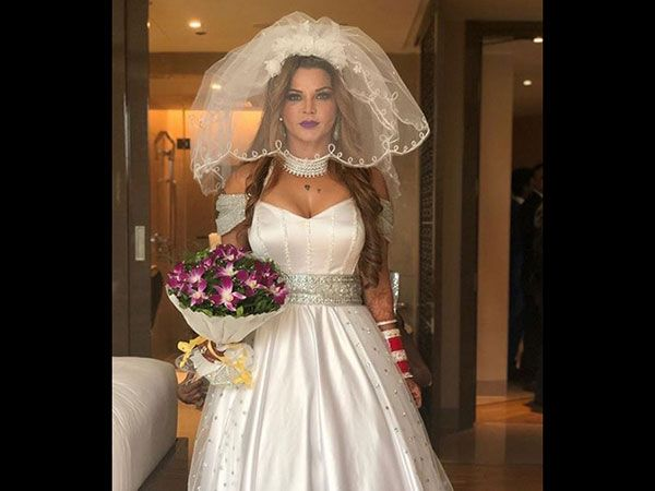 Rakhi Sawant Secretly Got Married Wedding Dresses Videos Marriage Pictures Celebrity Weddings