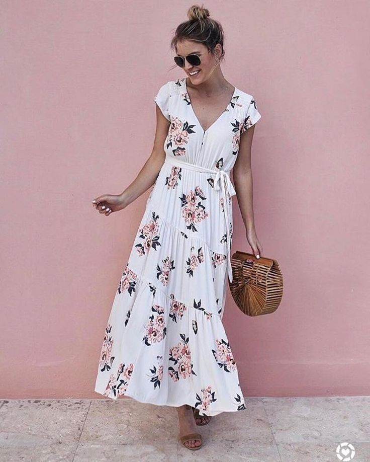 10 Amazing Maxi Dresses For Summer in 2019 | Outfits Ideas ...
