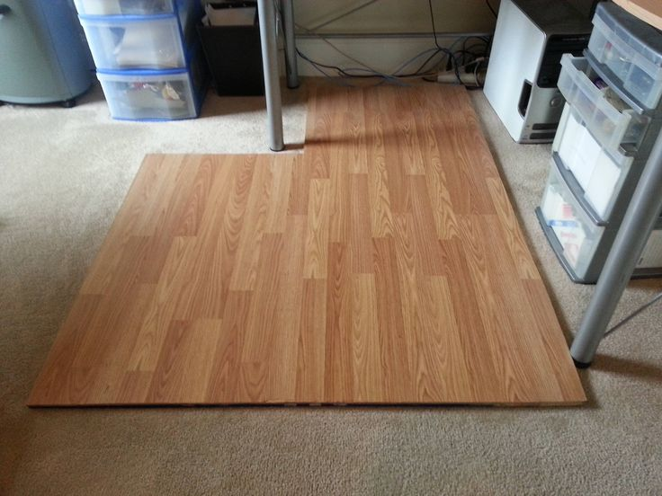 Putting Laminate Floor Over Carpet, Can You Lay Laminate Flooring Over Carpet Tiles