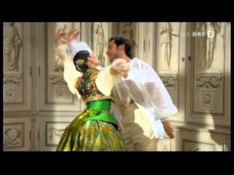 2/6 Walzer Ballet New Year's Concert 2011 Vienna Mein Lebenslauf ist Lieb und Lust Joseph Strauß