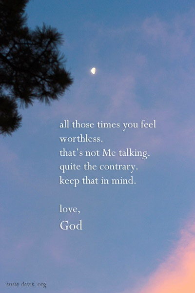 a love note. for the times when you feel worthless ...