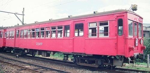 末期の名鉄揖斐・谷汲線の旧型車というと、前面5枚窓で楕円の戸袋窓を持つ510や、黒野から先の主であった750あたりが思い出されるところですが、さらにもう...