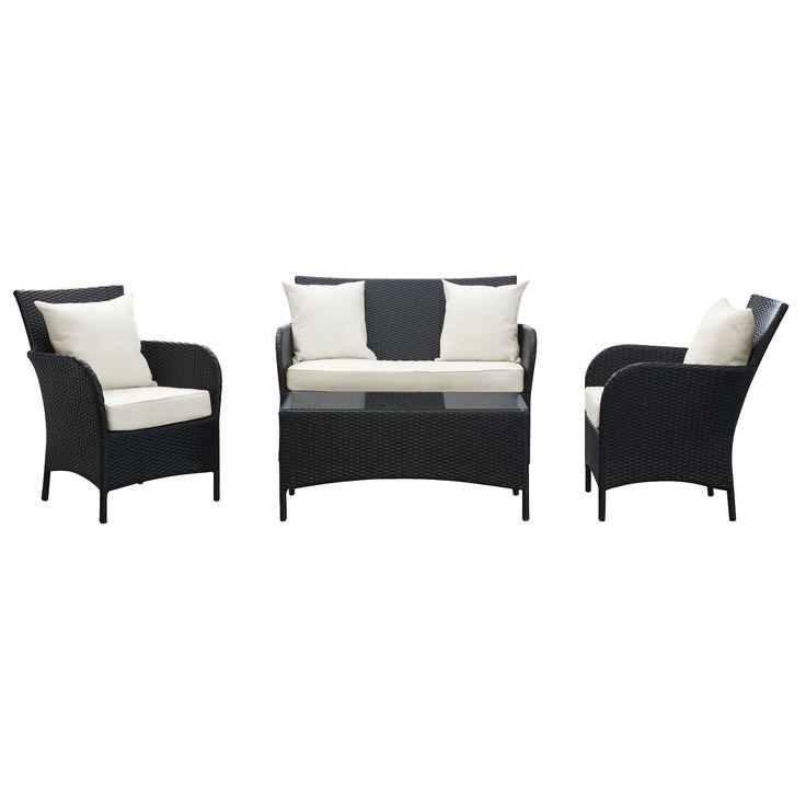 Thrive 4 Piece Outdoor Patio Sofa Set
