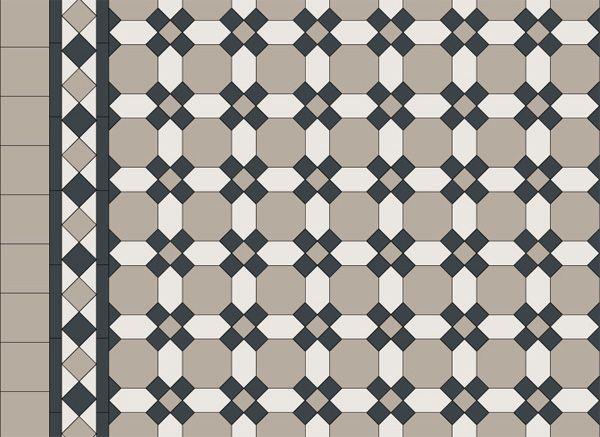 Bendigo Pattern + Border + Infill