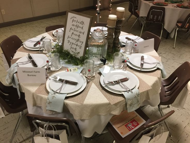 Chamber Of Commerce Table Decoration For Annual Meeting Perryville Mo In 2019 Table