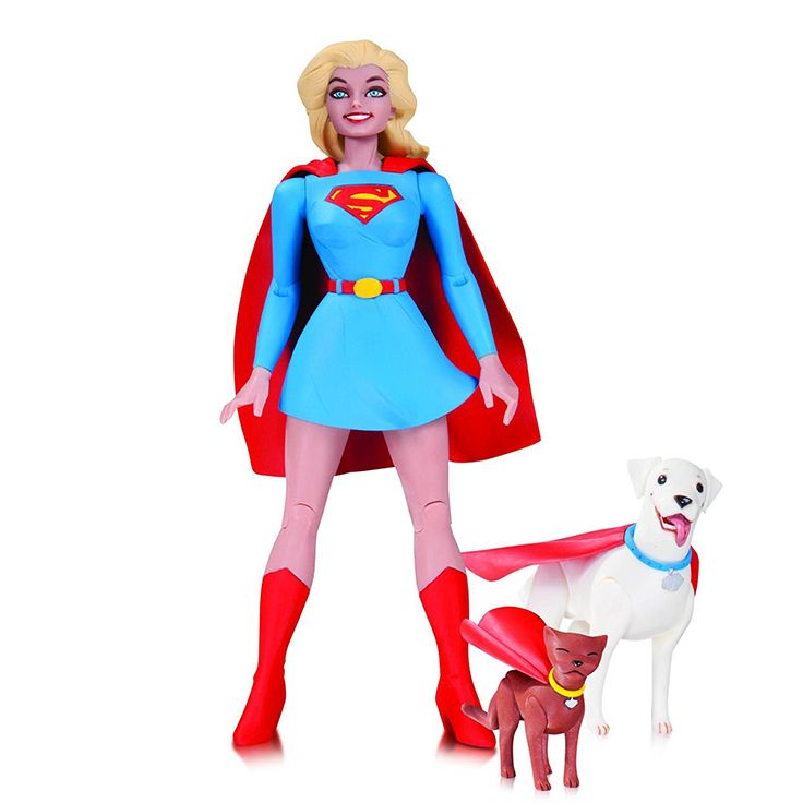 #DCCollectibles #DCComics #DesignerSeries #DarwynCooke #Supergirl #ActionFigure