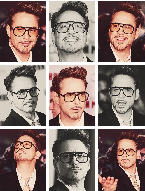 Many faces of Robert Downey Jr. @ LA Premiere of IM3