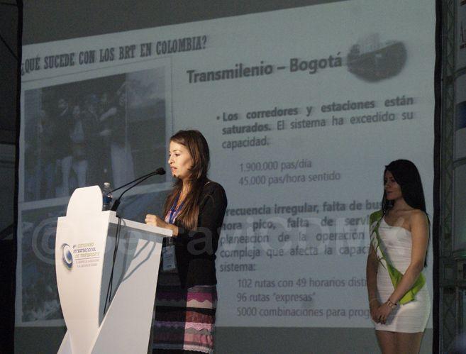 Licenciada Viviana Tobón Jaramillo, Asesora de la Secretaria de Movilidad de Medellín, Colombia.