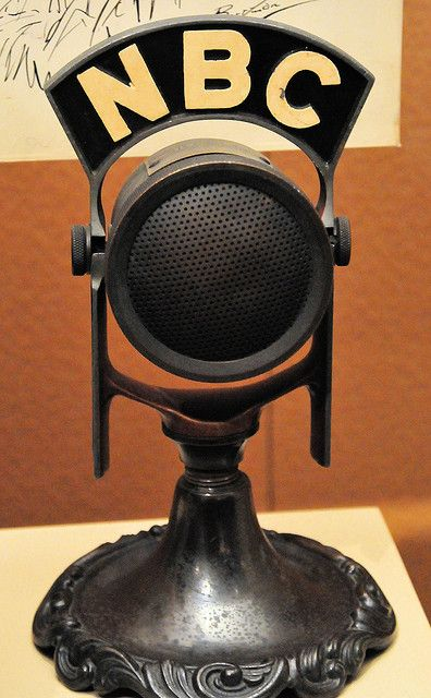 NBC Radio microphone at Smithsonian American History Museum by mbell1975, via Flickr