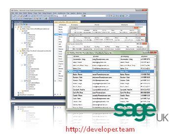 Sage UK ADO.NET Provider v15.0 Build 5998
