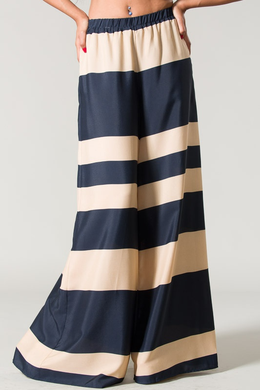 Navy Palazzo Pants #trendypantsies #pants #9W