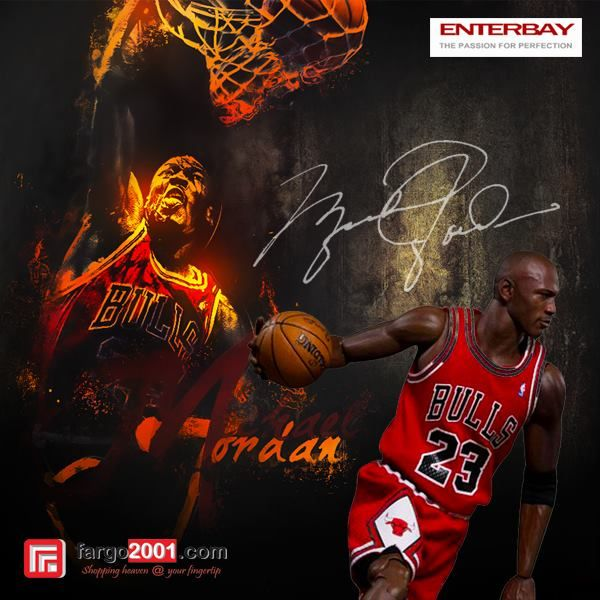 """""""I can accept failure, but I can't accept not trying"""" -MJ#23- Get Michael Jordan Figure only at fargo2001.com http://goo.gl/YGLhSX"""