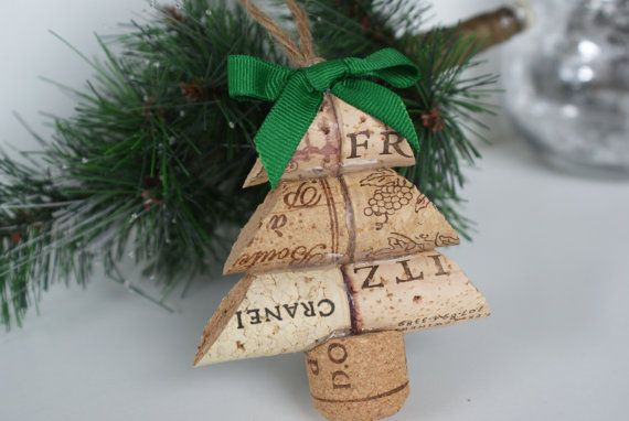 This Christmas tree wine cork ornament is made from upcycled wine corks and would make a great gift for anyone on your list! Use this Christmas tree as an ornament, favor, hostess gift, wine tag, or table decoration. There are endless possibilities!  Each Christmas tree is roughly 3.5 inches tall x 3.5 inches wide. Cork designs and years will vary, but each ornament will be CraftyTorre approved. The Christmas tree comes with a green ribbon bow and a natural twine hanger.  Multiple items will…