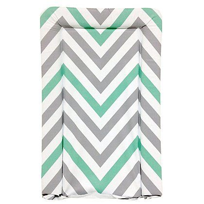 My Babiie Mint Green Chevron Changing Mat | Baby | George at ASDA