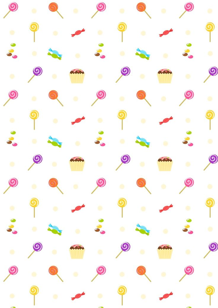 FREE printable party pattern paper : SWEETS