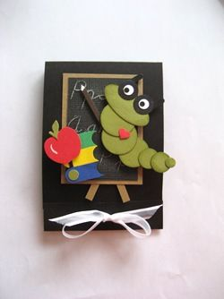 Book worm.. also what a great card for a teacher also.