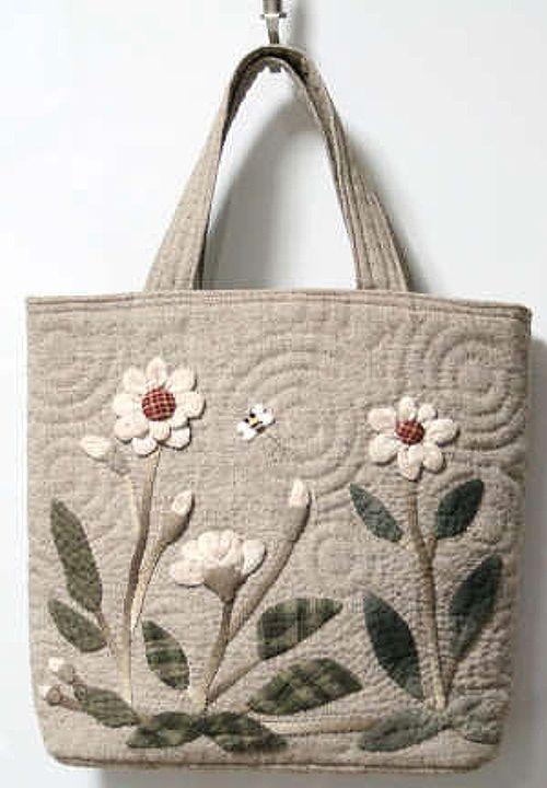 【預購】貝田明美 手提袋材料包/跳舞的花