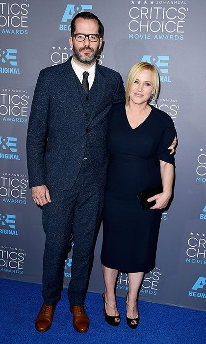 Patricia Arquette and Eric White Photo: © Getty Images