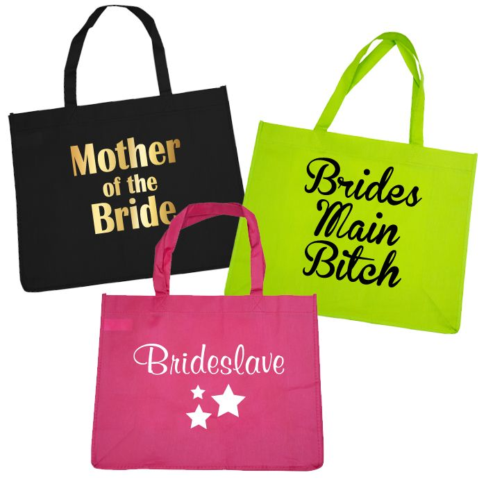 Bridal Party Budget Tote Bags