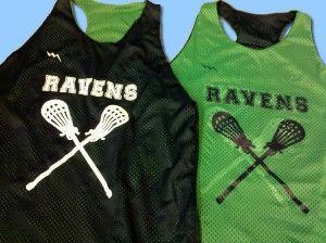shop Ravens Pinnies - Ravens Girls Lacrosse Pinnies - Girls Racerback Pinnies - Bellevue Washington Pinnies