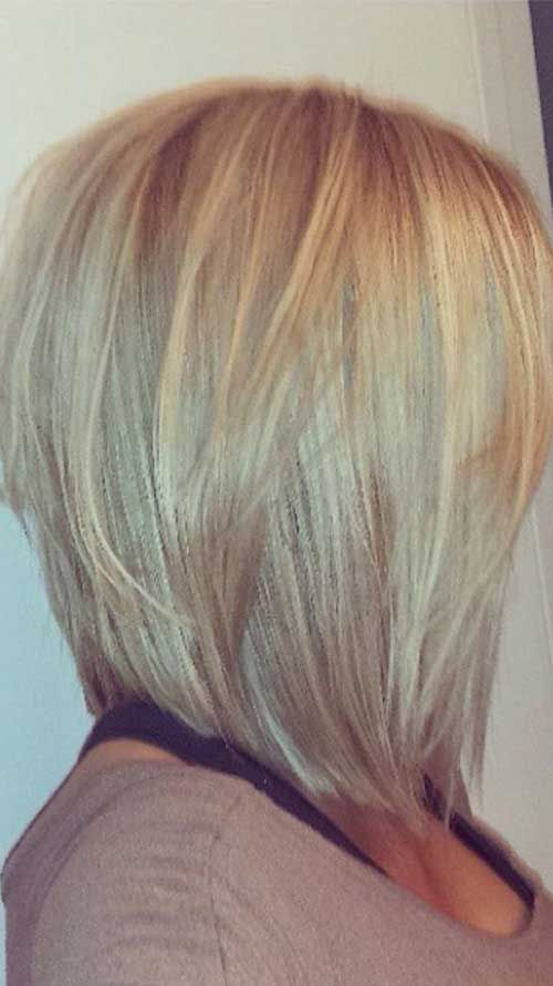 19 New Layered Long Bob Hairstyles   Bob Hairstyles 2015   Short Hairstyles for Women