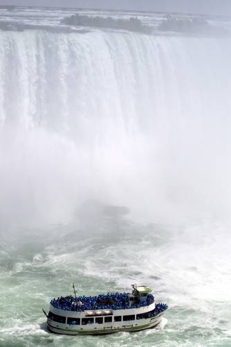 Awe-some place- there's such energy in all of this cascading water! I loved the experience from the Maid of the Mist!