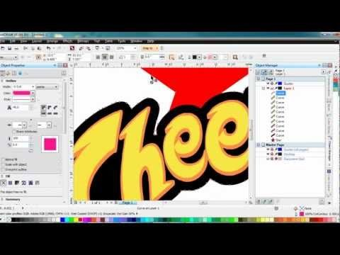 Creating a bleed in Corel Draw for Versaworks - YouTube