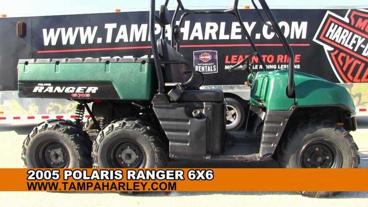 2005 Polaris Ranger 6X6 for sale. Contact 18887671710
