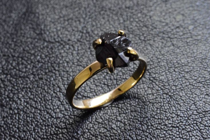 """Thanks for the kind words! ★★★★★ """"From beginning to end, the process of custom ordering my ring was great. Lewis made it very easy and accommodating. I am very happy with my purchase. Thank you!"""" DesignByIrinaKurland http://etsy.me/2CM3kac #etsy #jewellery #ring #gold"""