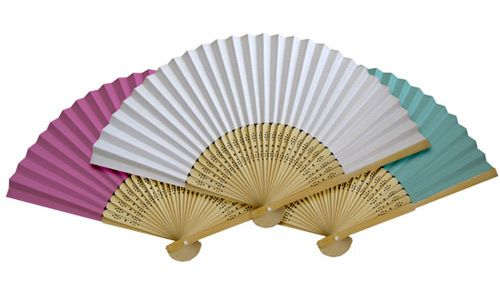 Fans for ceremony