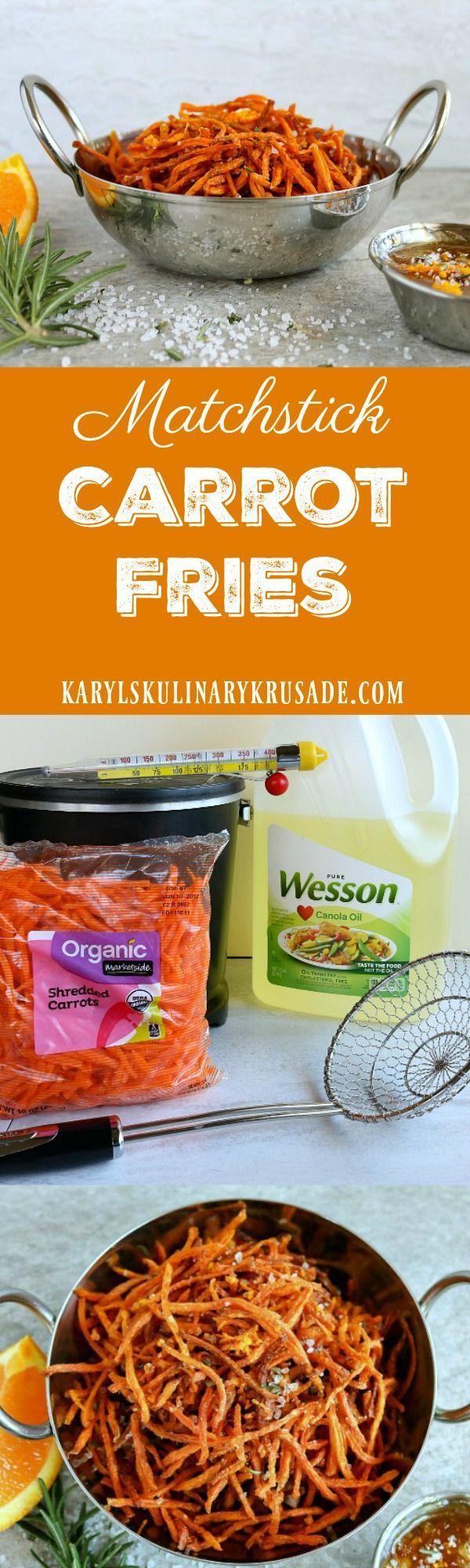 Matchstick Carrot Fries