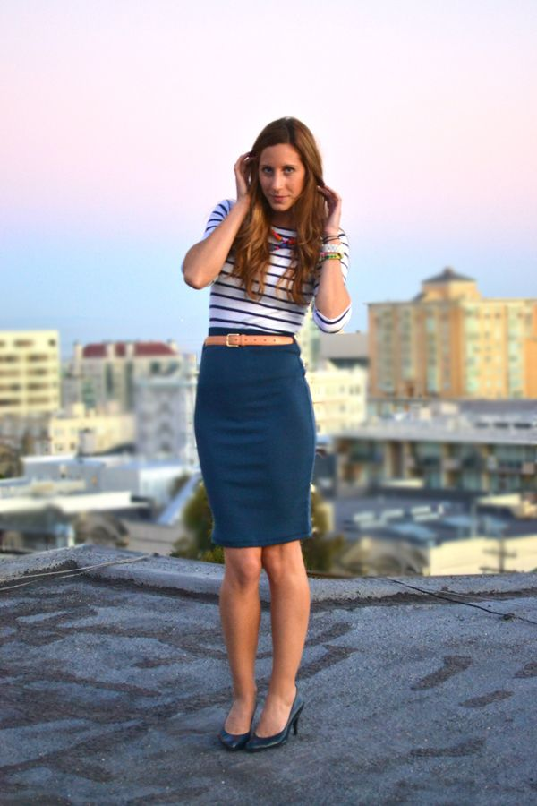 17 Best ideas about Navy Pencil Skirts on Pinterest | Old nsvy ...