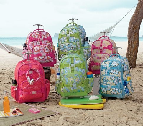 Rolling Mackenzie Girls Backpacks Pottery Barn Kids