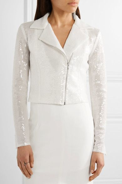 White tulle Asymmetric zip fastening through front 100% polyethylene; lining: 100% silk Dry clean Made in France