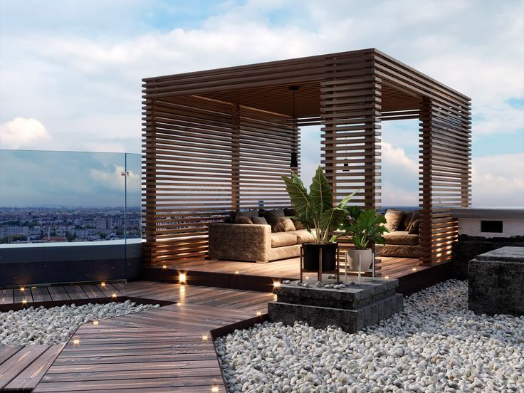 Proyecto Proyecto Behance Oficina Terraza Terraza
