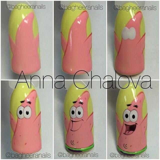 Anna Chalova nails tutorial