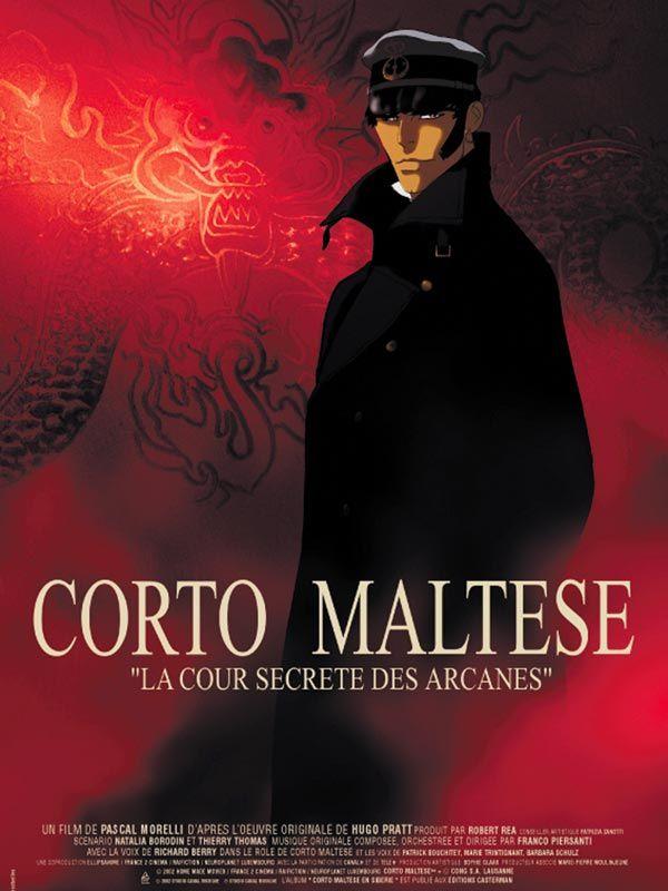 Corto Maltese, la cour secrète des arcanes de Pascal Morelli avec Richard Berry, Patrick Bouchitey.
