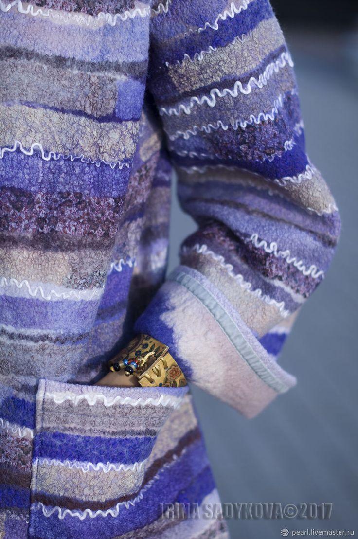 """Купить Видео-курс """"Пальто с капюшоном """"Блюз"""" в интернет магазине на Ярмарке Мастеров"""